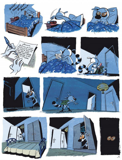 Page 1 maki tome 1 - un lémurien en colo