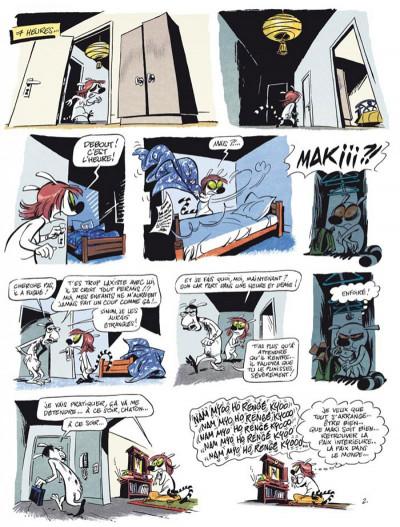 Page 2 maki tome 1 - un lémurien en colo