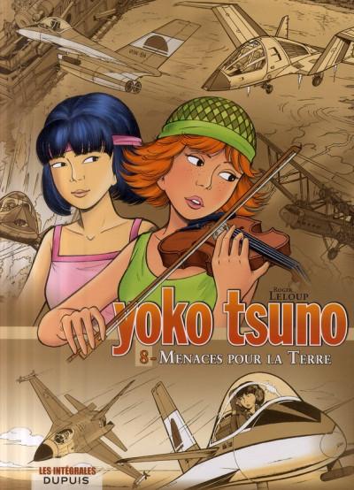 Couverture yoko tsuno - intégrale tome 8 - menaces pour la terre