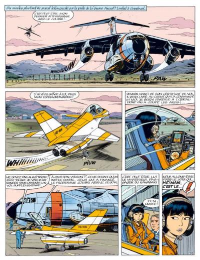 Page 5 yoko tsuno - intégrale tome 8 - menaces pour la terre
