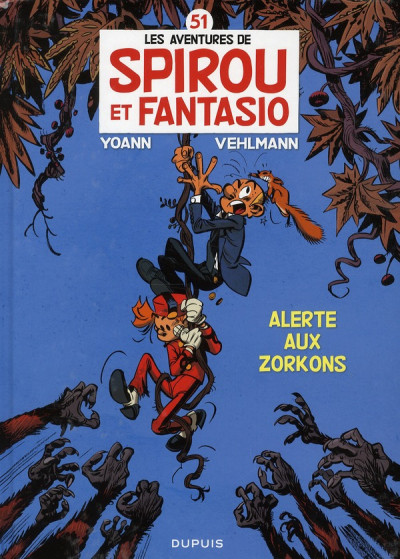 Couverture Spirou et Fantasio tome 51 - alerte aux Zorkons