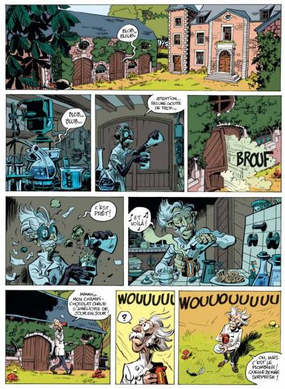 Page 1 Spirou et Fantasio tome 51 - alerte aux Zorkons