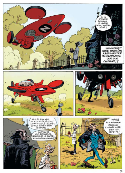 Page 2 Spirou et Fantasio tome 51 - alerte aux Zorkons
