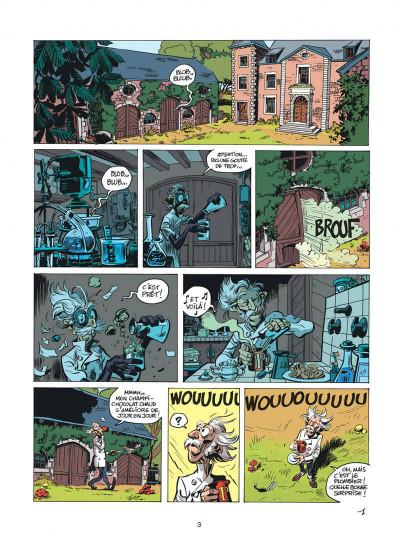Page 3 Spirou et Fantasio tome 51 - alerte aux Zorkons