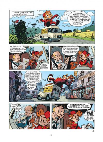 Page 6 Spirou et Fantasio tome 51 - alerte aux Zorkons
