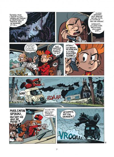 Page 7 Spirou et Fantasio tome 51 - alerte aux Zorkons
