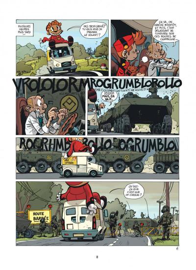 Page 8 Spirou et Fantasio tome 51 - alerte aux Zorkons