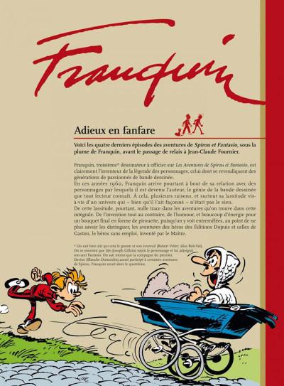 Page 1 spirou et fantasio - intégrale tome 8 - aventures humoristiques