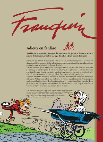 Page 3 spirou et fantasio - intégrale tome 8 - aventures humoristiques