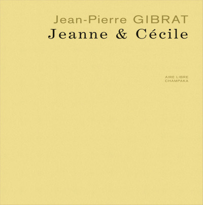 Page 3 jeanne & Cécile ; artbook Gibrat
