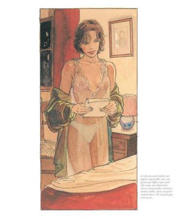 Page 4 jeanne & Cécile ; artbook Gibrat