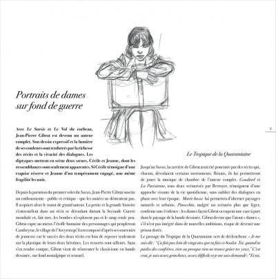 Page 5 jeanne & Cécile ; artbook Gibrat