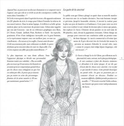 Page 7 jeanne & Cécile ; artbook Gibrat