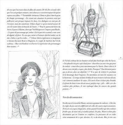Page 9 jeanne & Cécile ; artbook Gibrat