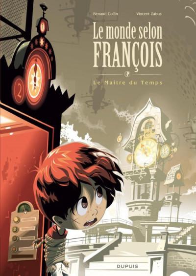 image de le monde selon françois tome 3 - grand format - le maître du temps