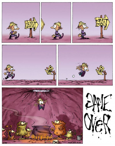 Page 1 game over tome 4 - oups !
