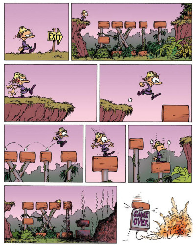 Page 2 game over tome 4 - oups !