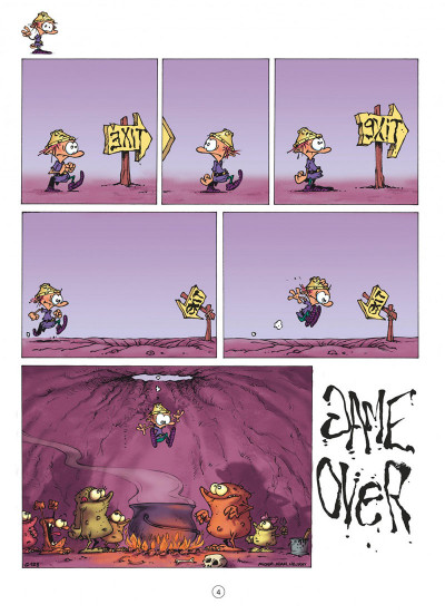 Page 4 game over tome 4 - oups !