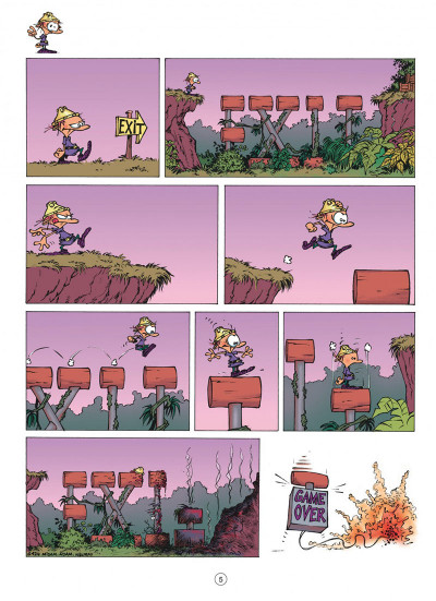 Page 5 game over tome 4 - oups !