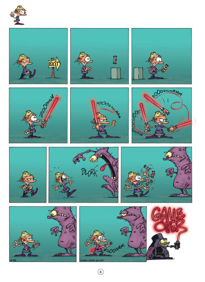 Page 6 game over tome 4 - oups !