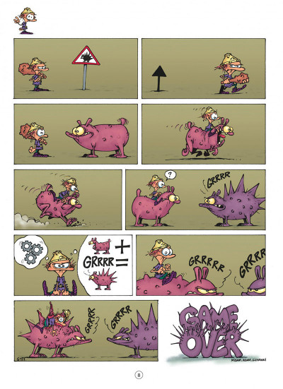 Page 8 game over tome 4 - oups !