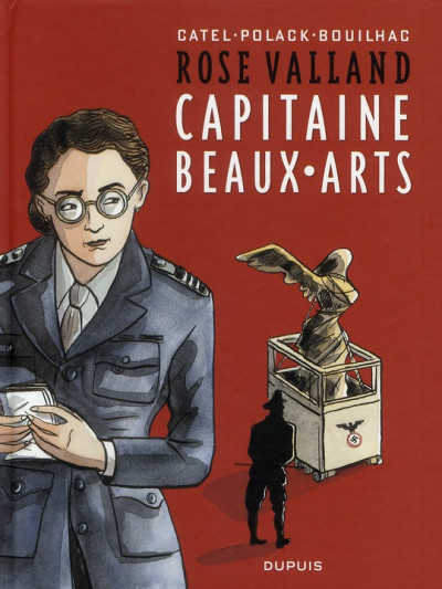image de rose valland ; capitaine beaux-arts