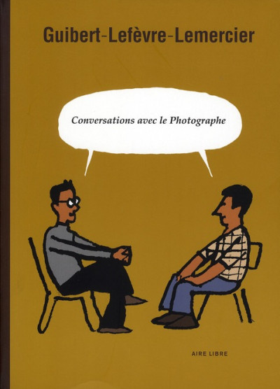 image de conversation avec le photographe