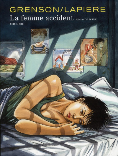 Couverture la femme accident tome 2 - édition luxe