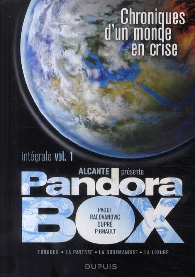 Couverture pandora box - intégrale tome 1 à tome 4