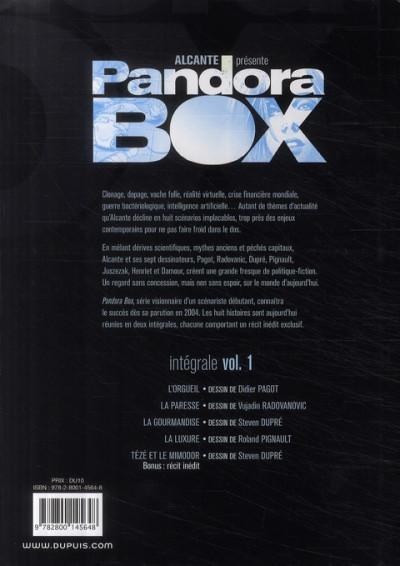 Dos pandora box - intégrale tome 1 à tome 4