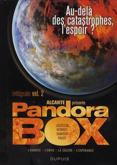 Couverture pandora box - intégrale tome 2 - tome 5 à tome 8