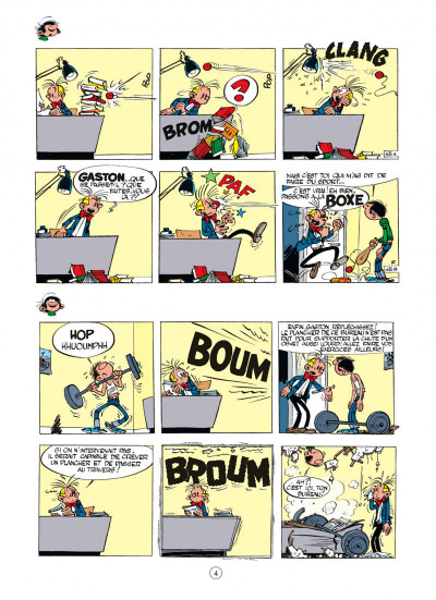 Page 4 gaston tome 2 - gaffes à gogo