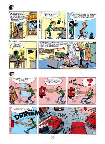 Page 5 gaston tome 2 - gaffes à gogo