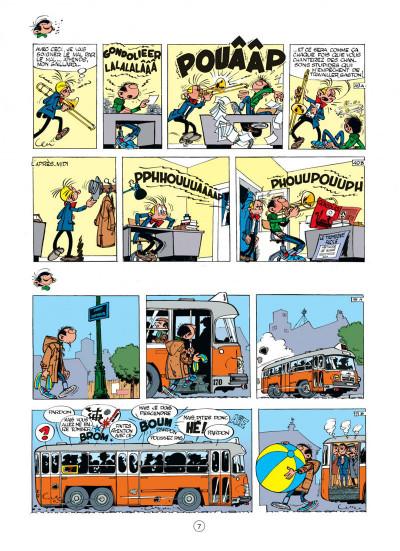 Page 7 gaston tome 2 - gaffes à gogo