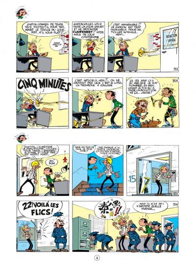 Page 8 gaston tome 2 - gaffes à gogo