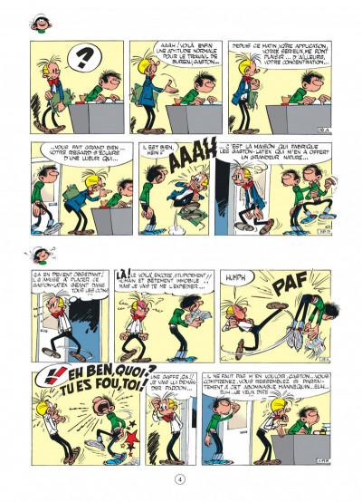 Page 4 gaston tome 3 - les gaffes d'un gars gonflé