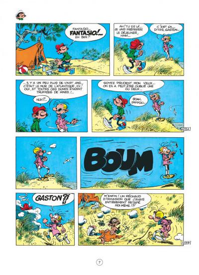 Page 7 gaston tome 7 - des gaffes et des dégâts
