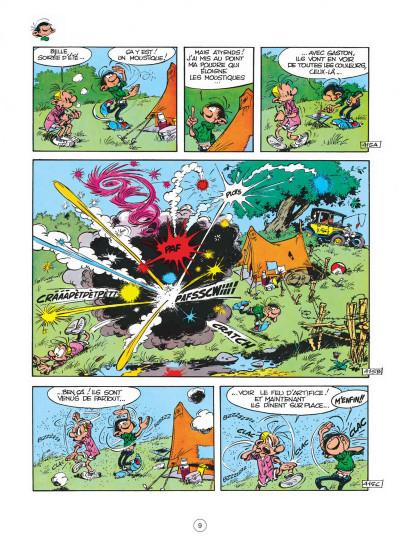 Page 9 gaston tome 7 - des gaffes et des dégâts