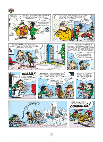 Page 3 gaston tome 9 - un gaffeur sachant gaffer