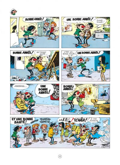 Page 4 gaston tome 9 - un gaffeur sachant gaffer
