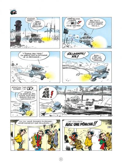 Page 5 gaston tome 9 - un gaffeur sachant gaffer