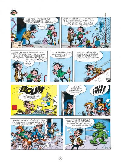 Page 8 gaston tome 9 - un gaffeur sachant gaffer