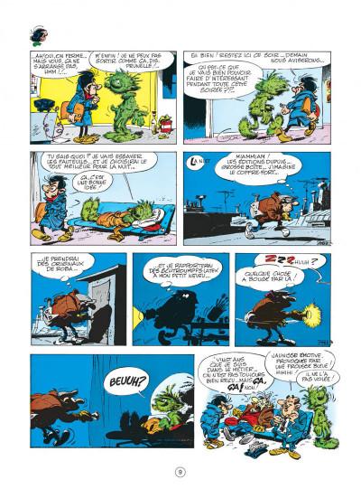 Page 9 gaston tome 9 - un gaffeur sachant gaffer