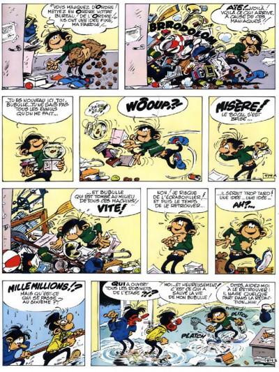 Page 3 gaston tome 11 - le repos du gaffeur