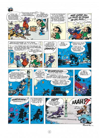 Page 4 gaston tome 12 - le cas lagaffe