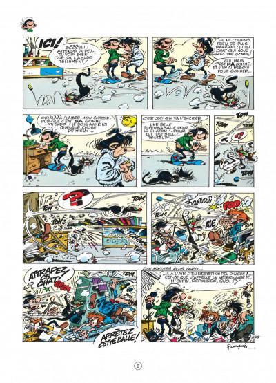 Page 8 gaston tome 12 - le cas lagaffe