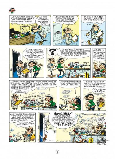 Page 9 gaston tome 12 - le cas lagaffe