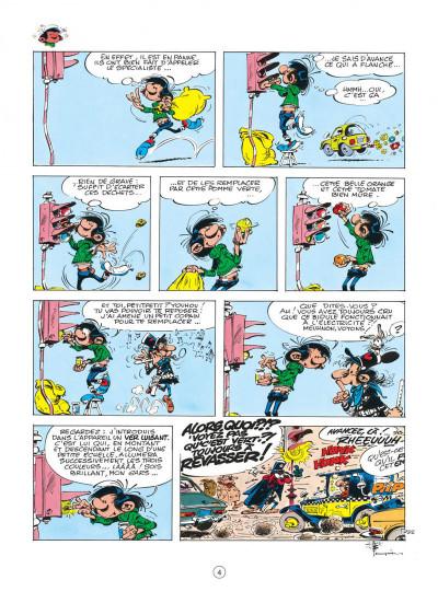 Page 4 gaston tome 15 - le gang des gaffeurs