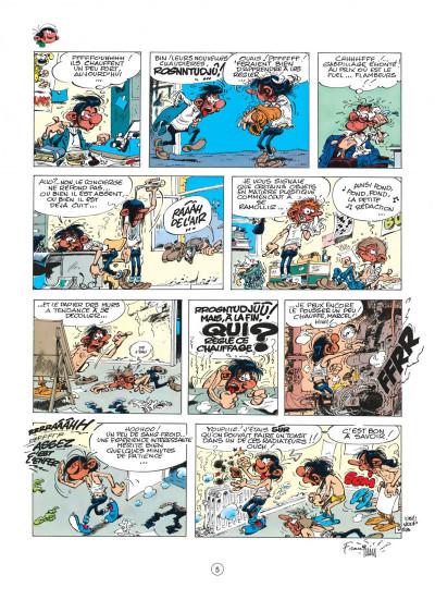Page 5 gaston tome 15 - le gang des gaffeurs