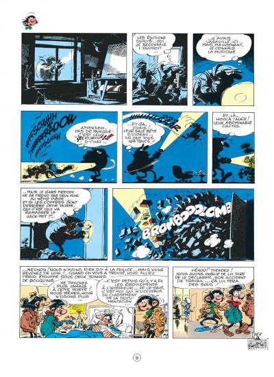 Page 9 gaston tome 15 - le gang des gaffeurs